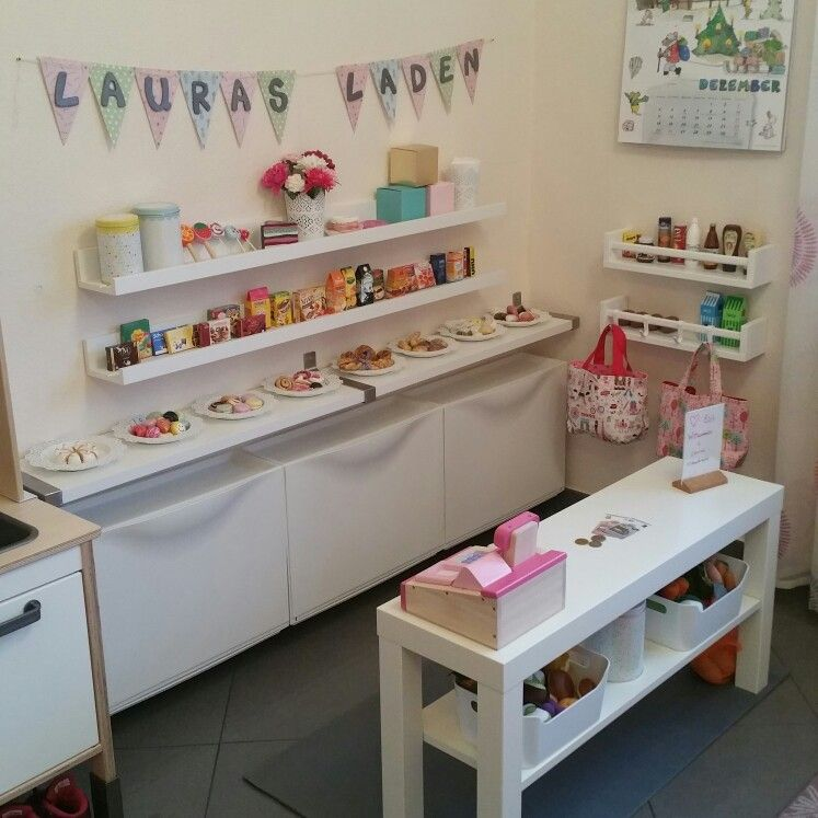 #Kaufladen #Kinderzimmer #Ikea #Ikeahack #Kids #Mädchen #Spielzeug #DIY