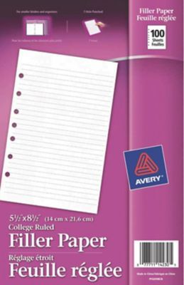 avery mini binder filler paper 5 1 2 x 8 1 2 pinterest mini