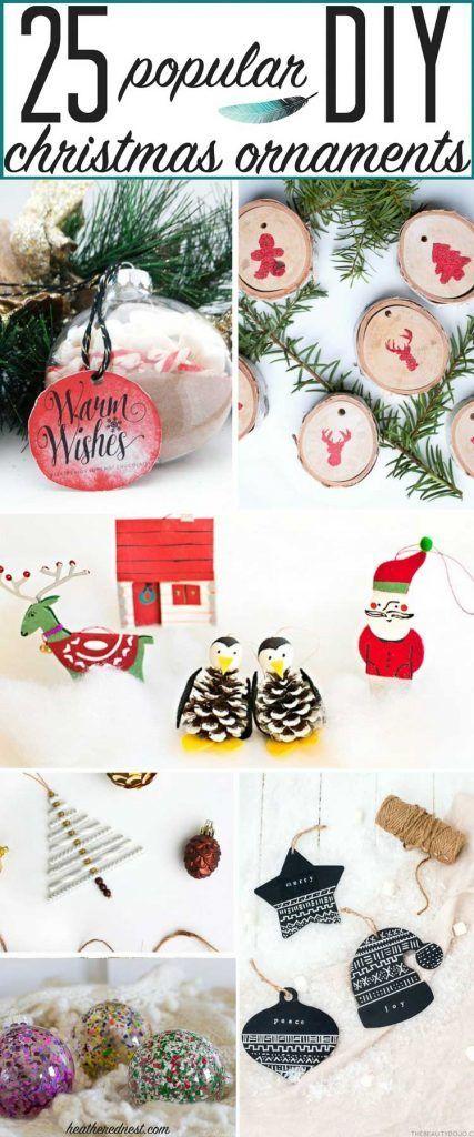 Last Minute Diy Christmas Ornaments Diy Christmas Ornaments Christmas Diy Christmas Ornaments