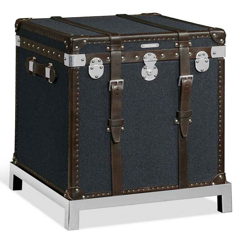 ralph lauren modern metropolis trunk i want that. Black Bedroom Furniture Sets. Home Design Ideas