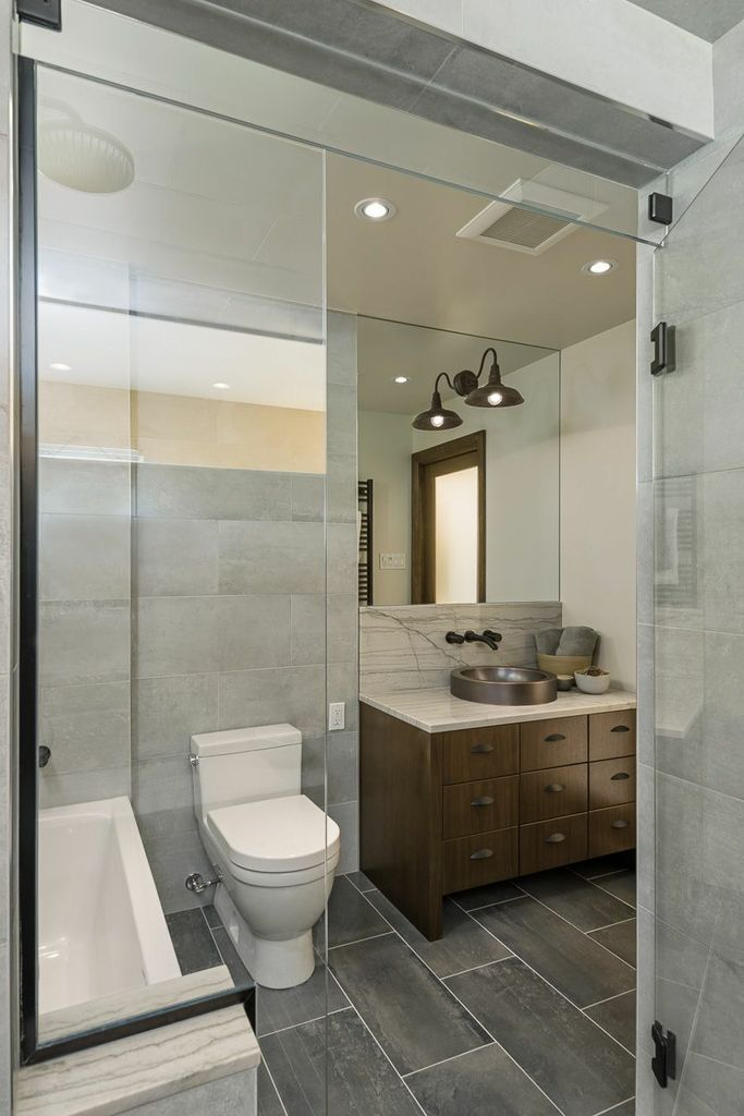 modern bathroom designed by astro design ottawa won best