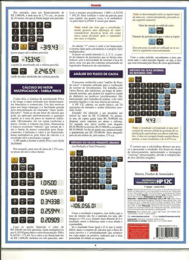 resum o hp 12c manual de instru o hp 12c muito util e pratico rh br pinterest com HP 12C User Manual HP 12C Manual Decimal