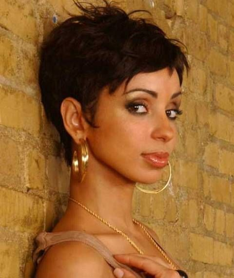 Sensational 50 Most Beautiful African American Short Hairstyles Thinkstylz Hairstyle Inspiration Daily Dogsangcom