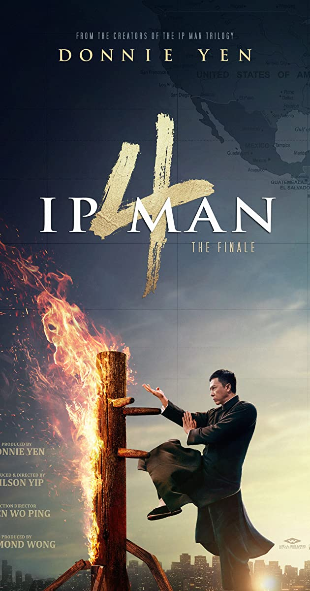 Directed By Wilson Yip With Donnie Yen Scott Adkins Danny Kwok Kwan Chan Vanness Wu The Kung Fu Master Travels To The U S Wh Ip Man Ip Man 4 Ip Man Movie