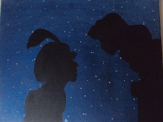 Disney Aladdin canvas painting by stardustcreationz, $19.00