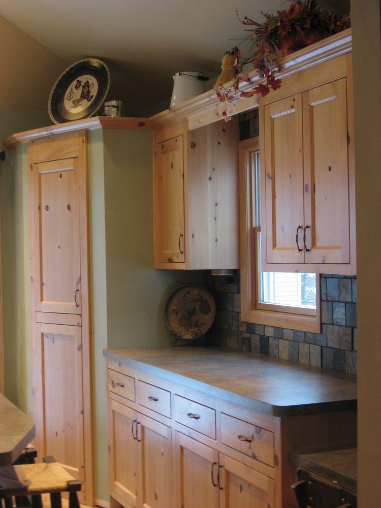 strategic kitchens  knotty pine kitchen  strategic