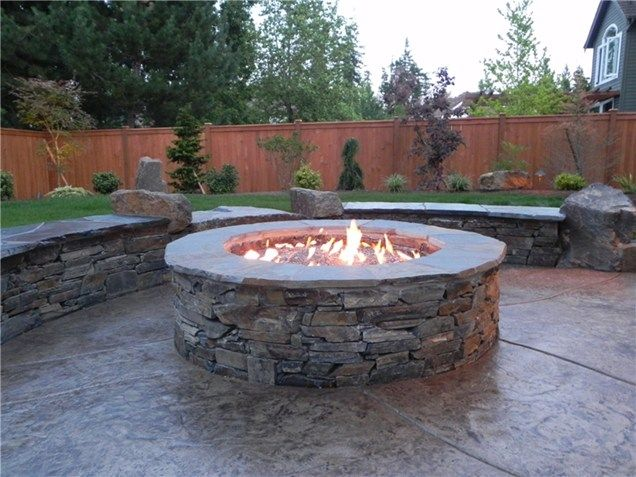 15 Fire Pit Ideas To Light Your Flame With Images Gas Fire