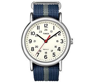 19258216cda Timex Men s Blue and Gray Weekender Watch