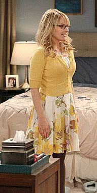 dc88601c6831 Bernadette Rostenkowski Fashion on The Big Bang Theory | Melissa Rauch |  Bernadette's yellow floral dress on The Big Bang Theory