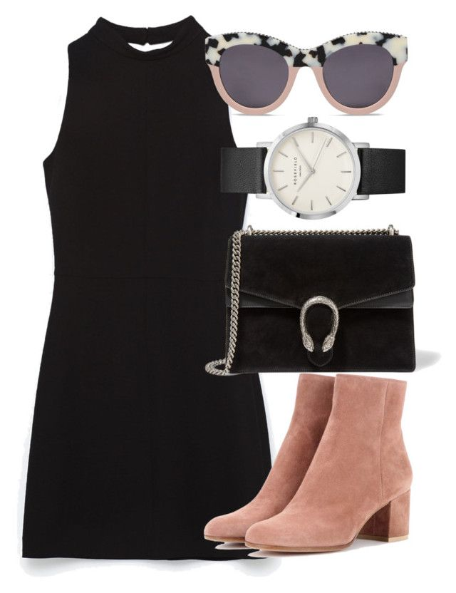 """""""Untitled #5964"""" by laurenmboot ❤ liked on Polyvore featuring Gucci, Gianvito Rossi and STELLA McCARTNEY"""