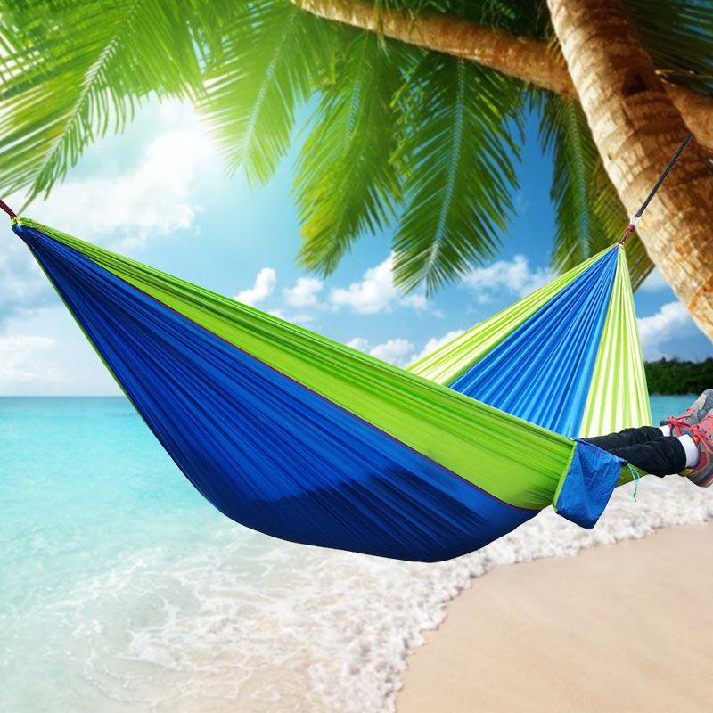 cheap parachute hammock buy quality hammock garden directly from china hang bed suppliers  outdoor sleeping parachute hammock garden sports home travel     270x140cm garden sports home travel camping swing nylon hang bed      rh   pinterest