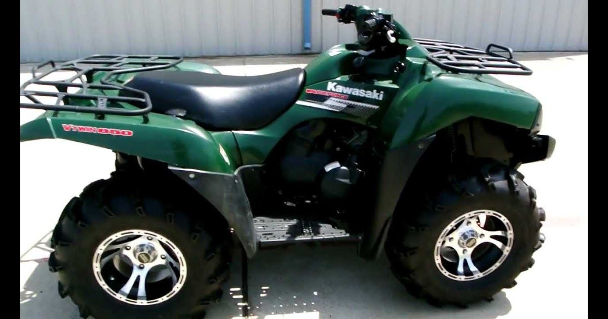 2007 Kawasaki Brute Force 650 4x4 Overview And Review Arctic