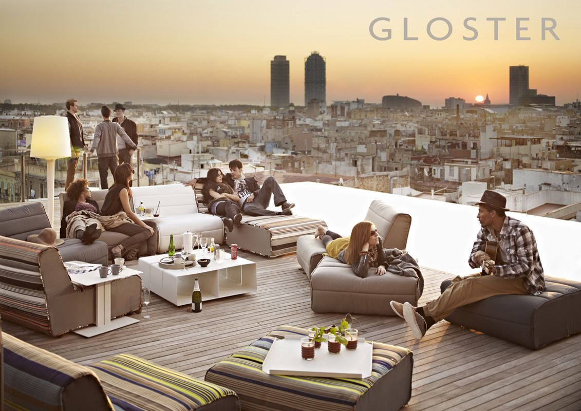 Stunning gloster furniture for patio furniture ideas cool rooftop design with gloster furniture plus wooden deck
