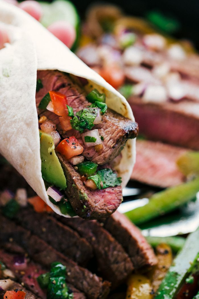 Steak Fajitas | The Food Cafe | Just Say Yum