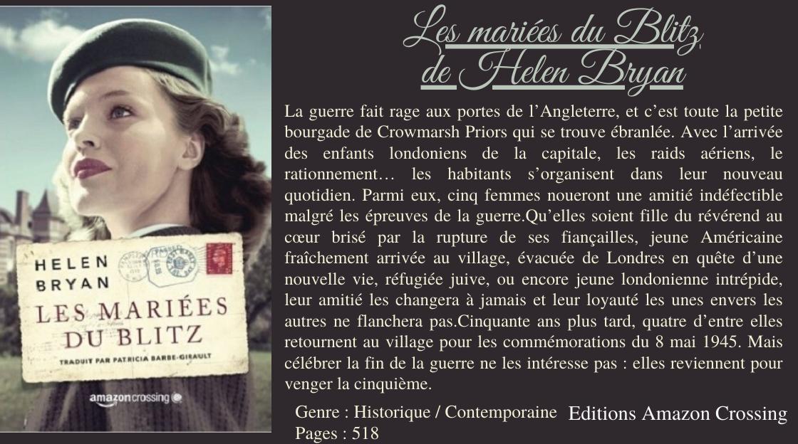 Couverture du livre : Les Mariées du Blitz