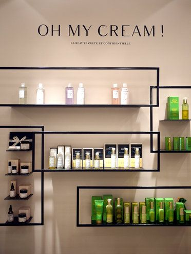 Oh My Cream Dossier Beaute Paris Beauty Salon Decor