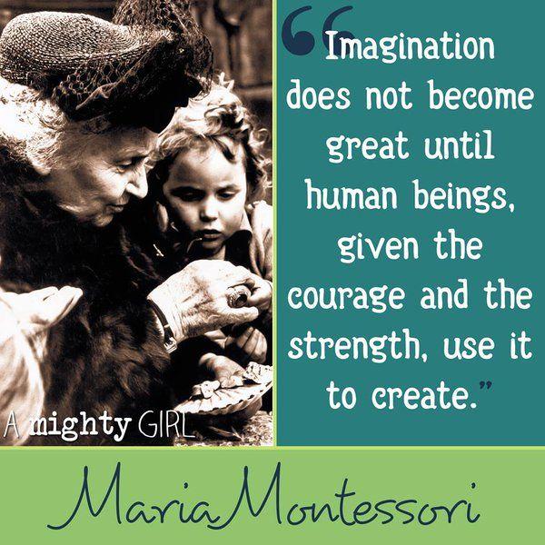 Maria #Montessori #quoteoftheday …