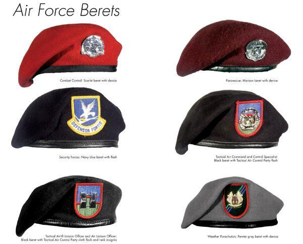 Beret, Air Force