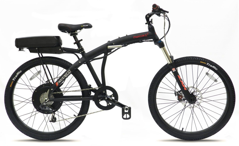 Amazon Com Prodeco V3 Phantom X2 8 Speed Folding Electric Bicycle