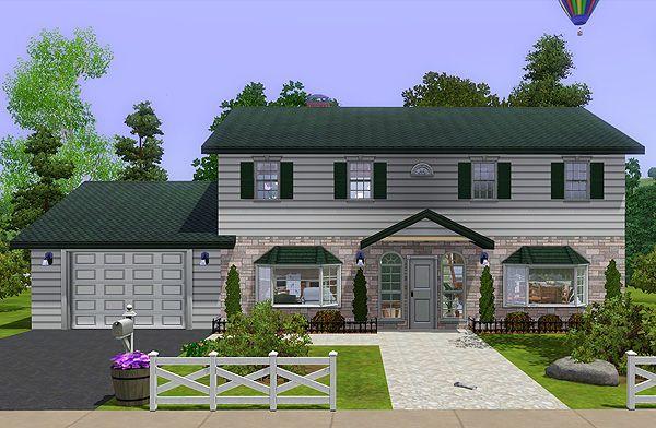 my sims 3 blog: family housenoel | the sims 3 base game lots