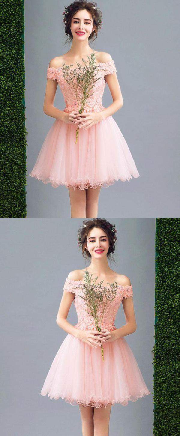 Lace prom dresses pink prom dresses prom dresses aline short