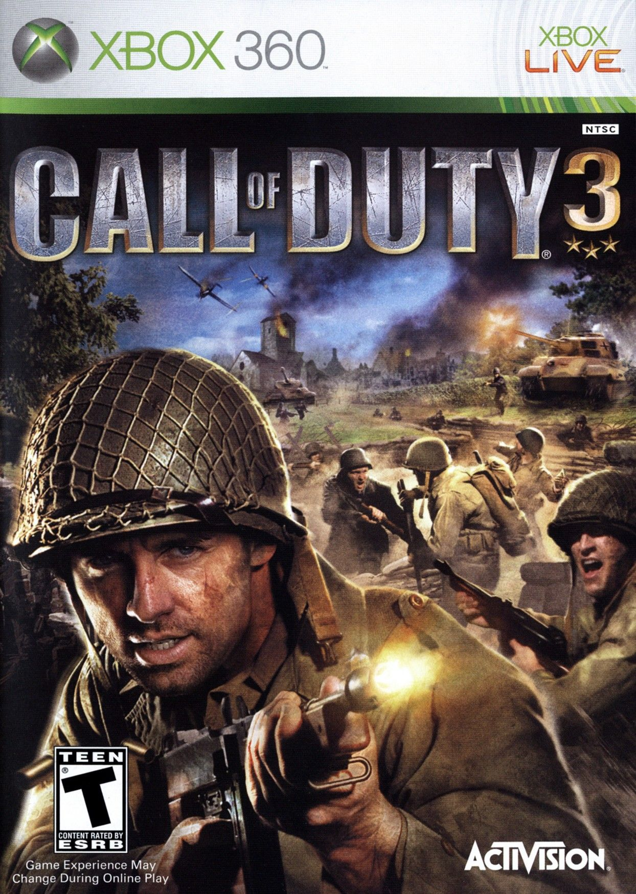 Call Of Duty 3 Call Of Duty Xbox 360 Games Wii Games