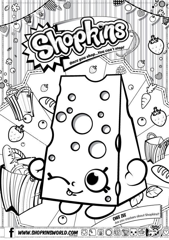 shopkins coloring book - Google Search | Printable Art/Coloring ...