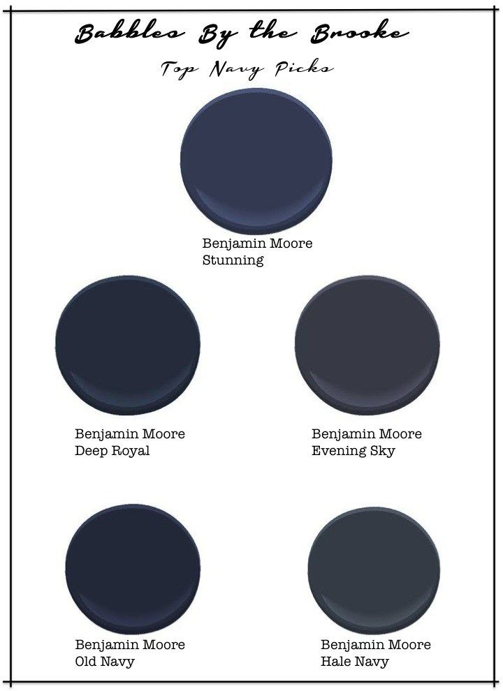 Top Picks Benjamin Moore Navy S House Pinterest Home And
