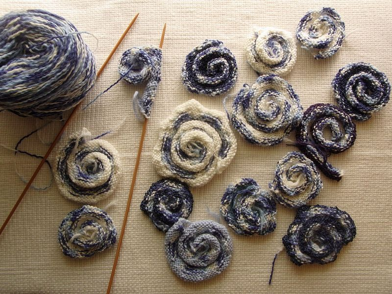 knitting swirls | by am_tm_mitsuko