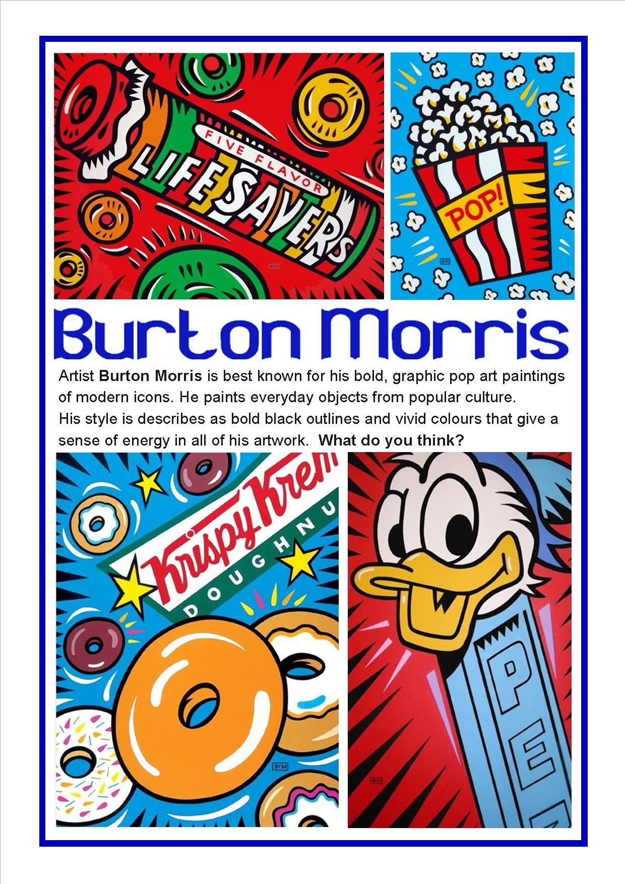 Burton Morris Pop Art 2