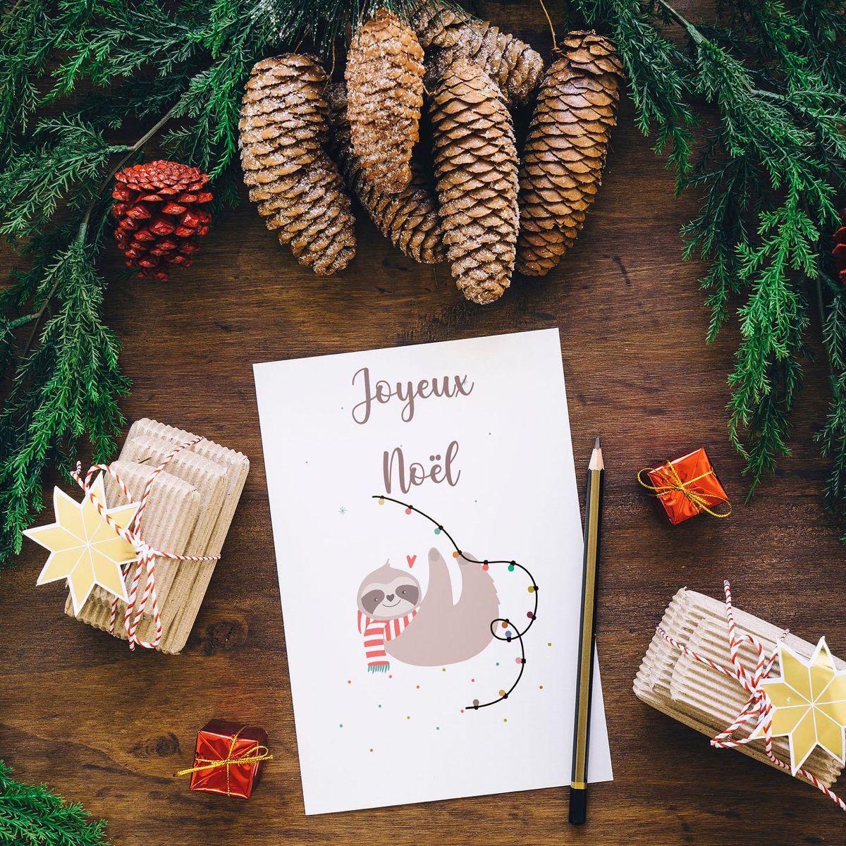 Joyeux Noel Carte Noel Christmas Card Holiday Greeting Etsy Noel Christmas Cards Holiday Cards Christmas Cards