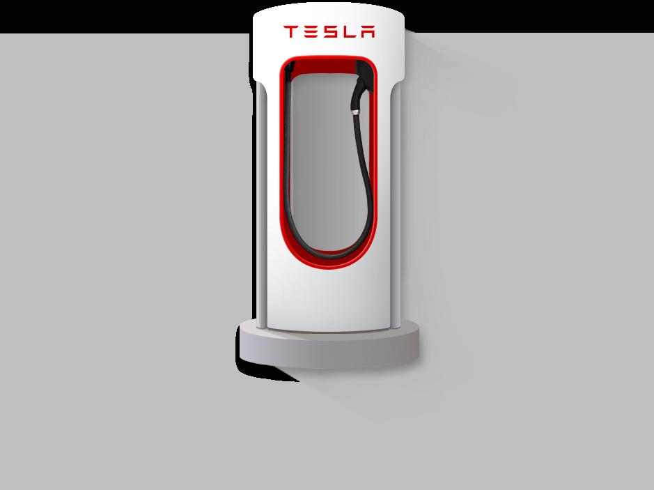 Supercharger Tesla Electric vehicle charging