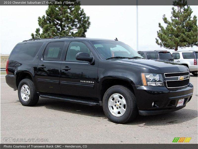 2010 Chevy Suburban Black Ebony 2010 Chevrolet Suburban Lt 4x4