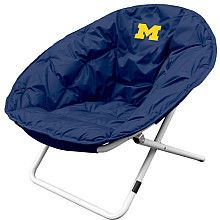 Logo Chairs Michigan Wolverines Sphere Chair