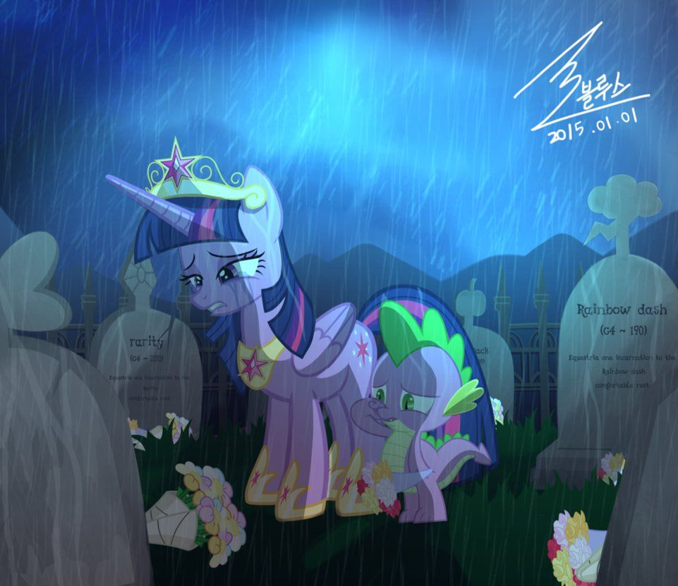 MLP Equestria 100 Years Later... By 0Bluse.deviantart.com