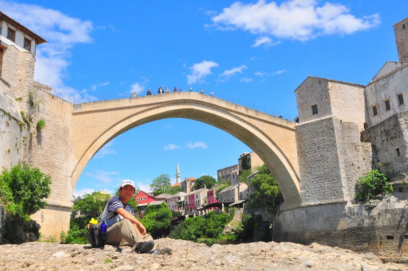 Stone Bridge, Mostar, Bosnia 2011