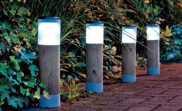 Solar Lampen Tuin : Solarleuchte selber bauen lampen solar und diy