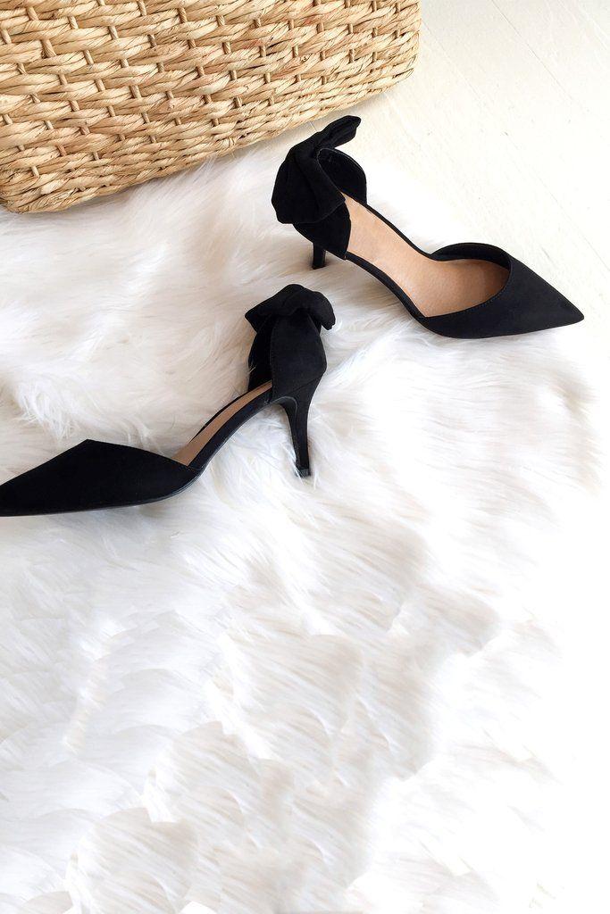 ceec27a14a695 Belle De Jour Pumps - black | NEW ARRIVALS | Black pumps, Suede ...