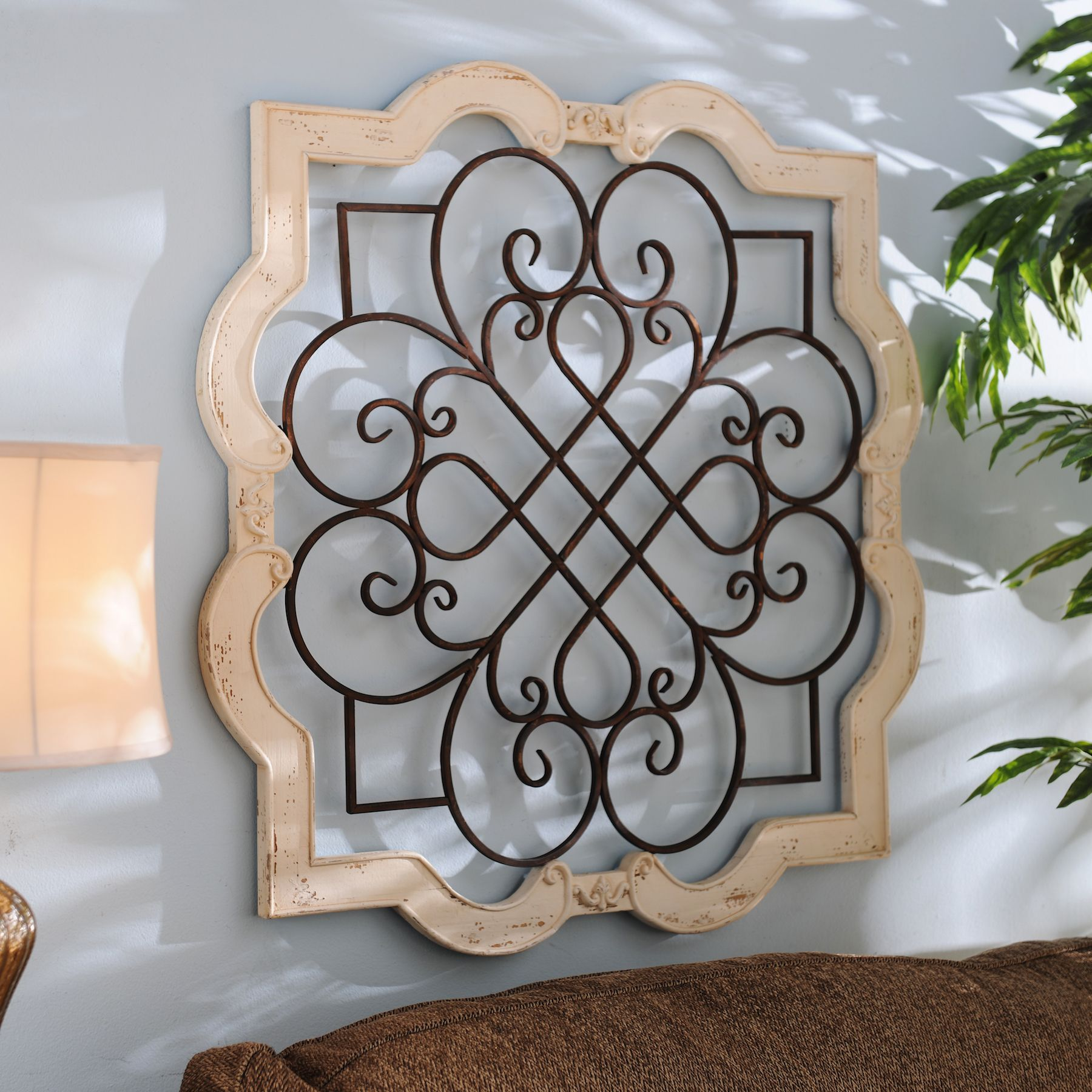 Metal Plaque Wall Decor Wood Isabelline Plaque  Wall Decor Metals And Woods