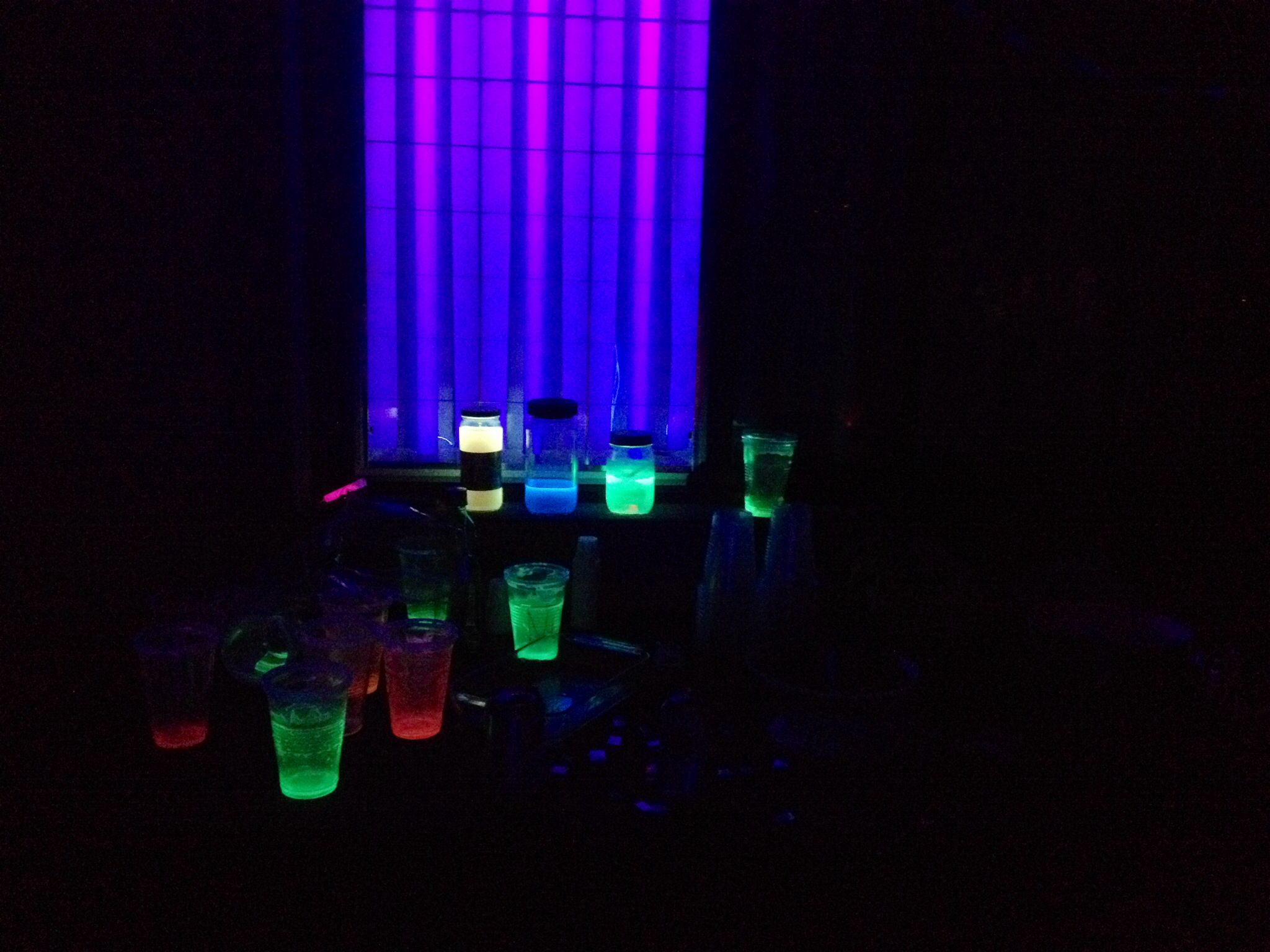 Neon party decorations pinterest abc party ideas for girls