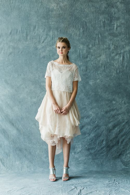 Carol Hannah Monarch Lace Tee Topper | Image by Matthew Ree ...