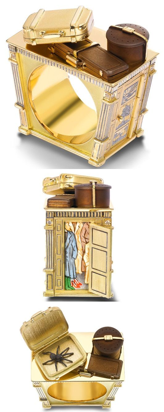 Narnia Wardrobe ring - Theo Fennell