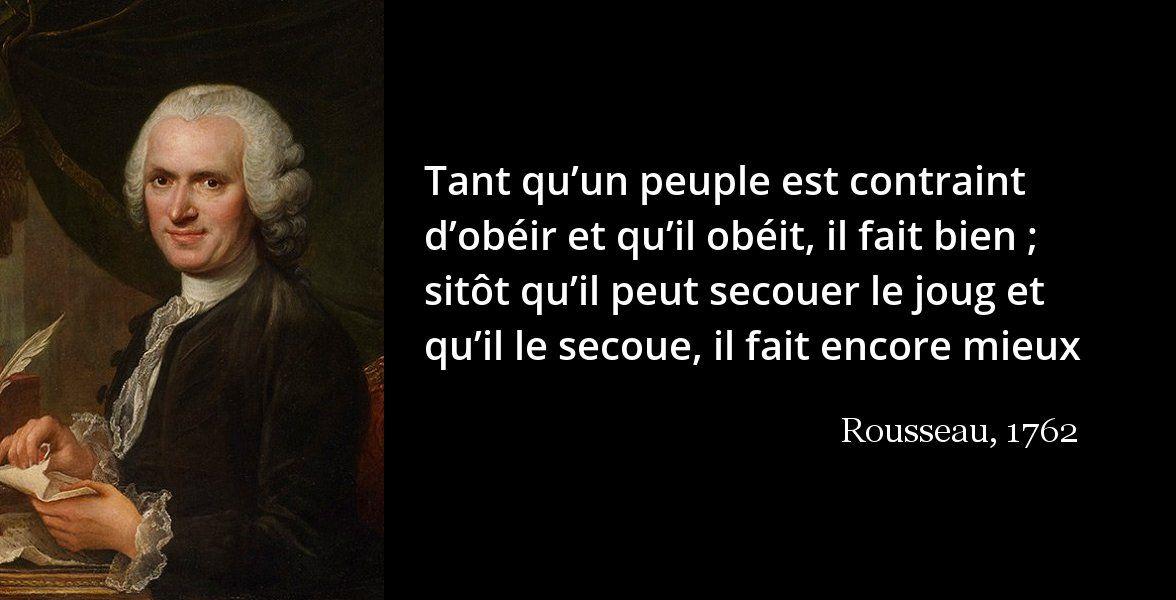 La Veritable Democratie Selon Rousseau Contrat Social Belles