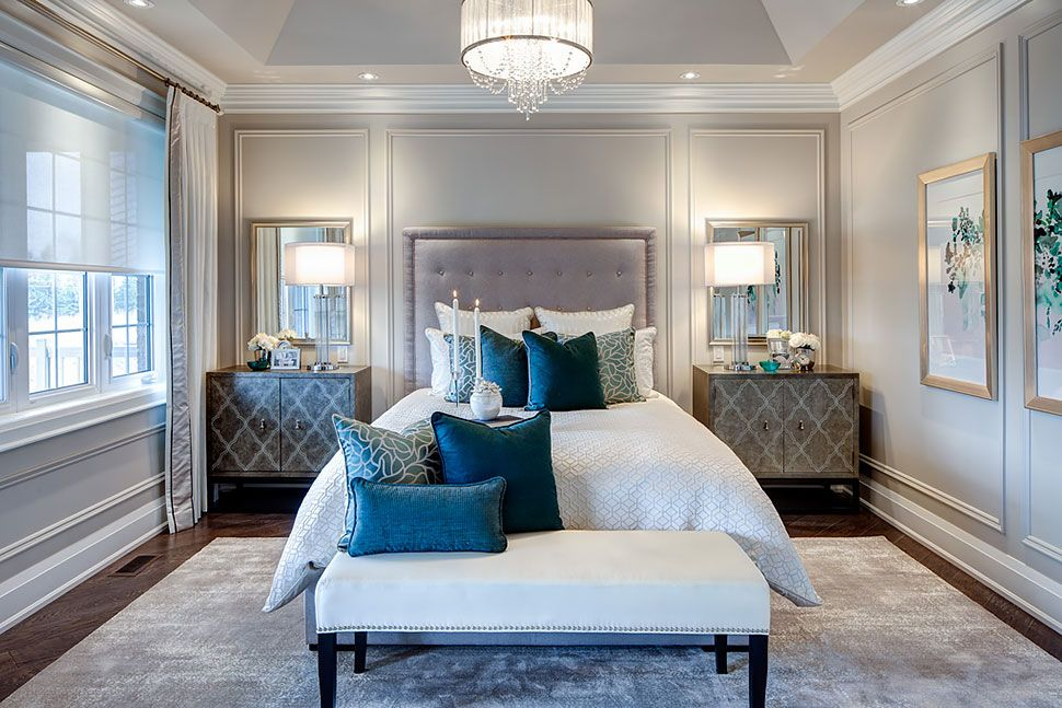 tray ceiling idea .. need to repaint the master bedroom | Master ...