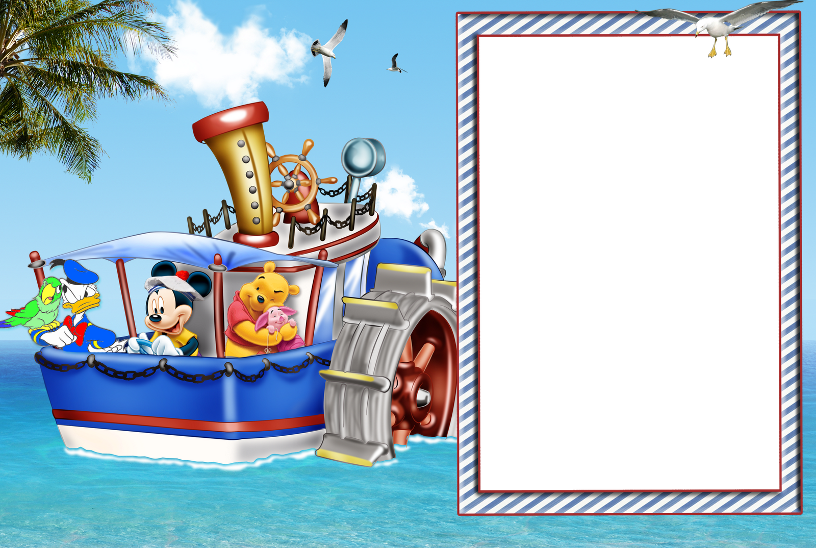 photoshop disney picture frame