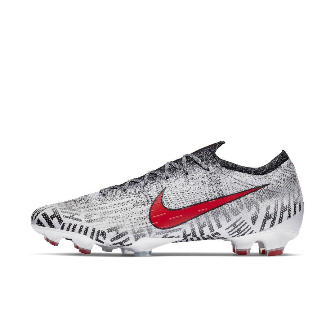 34141fc9087b Nike Mercurial Vapor 360 Elite Neymar Jr Firm-Ground Soccer Cleat Size 10.5  (White)