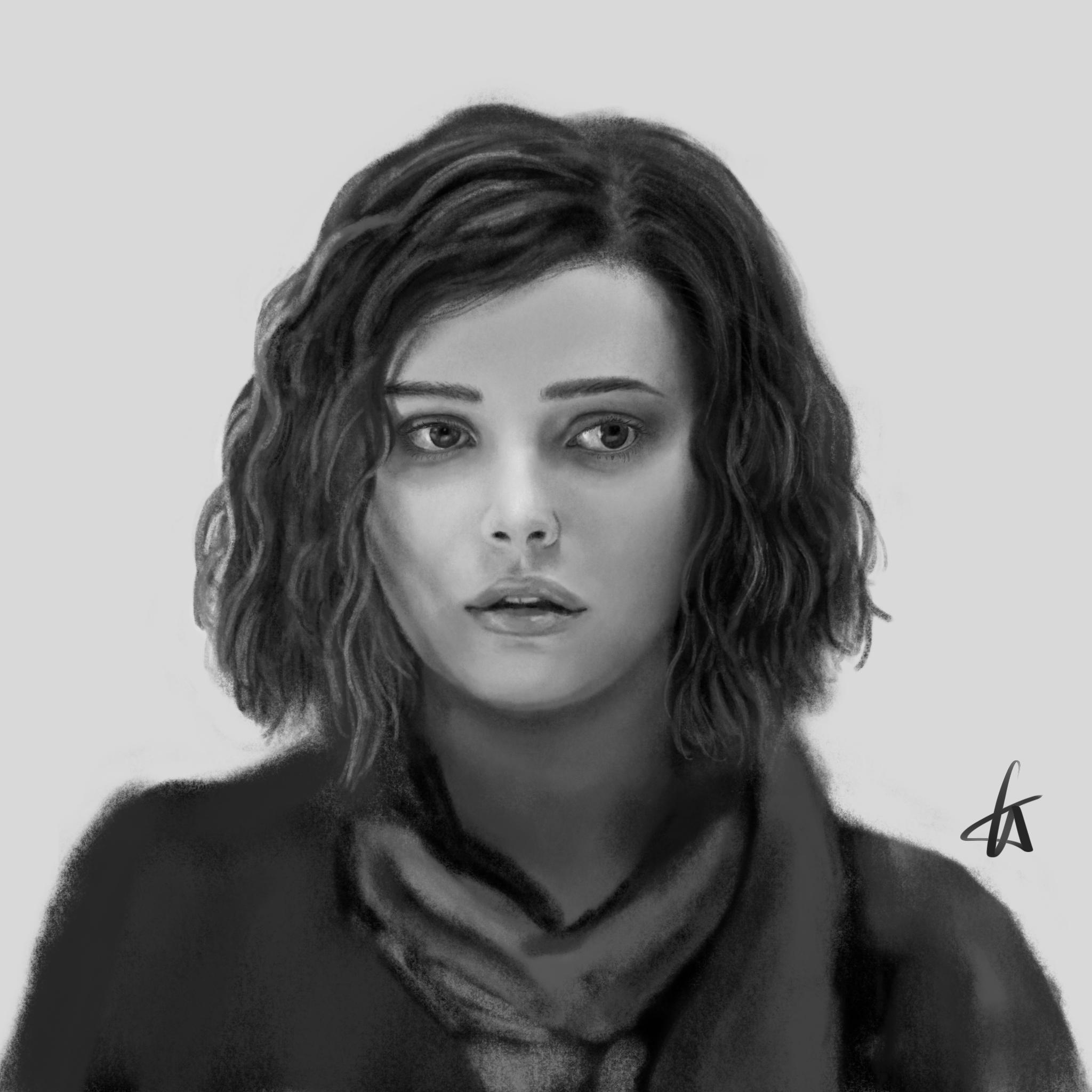 My Draw Of Hannah Baker