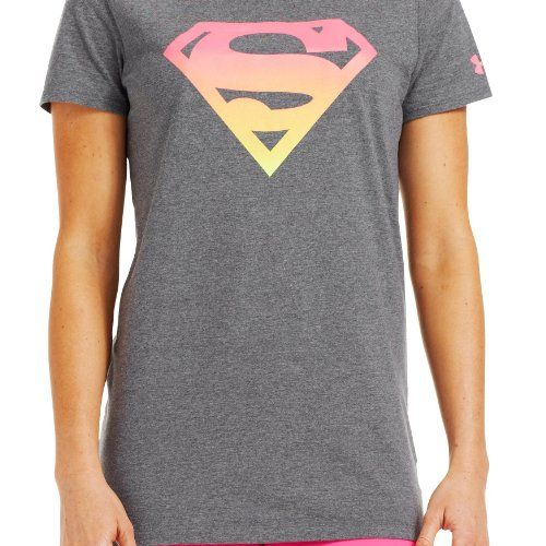 9b271f1d $25.99 cool Under Armour Women's Ombre Supergirl Semi-Fitted T-Shirt ...