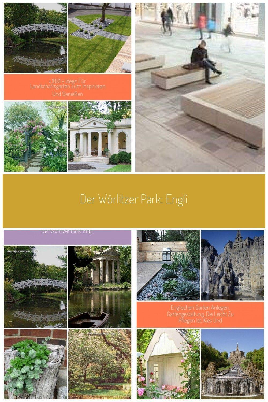 Der Worlitzer Park Englischer Garten Gondelfahrt Amphitheater Und Sogar Ein Amphitheater Der Ein Eng Backyard Landscaping Diy Playground Landscape