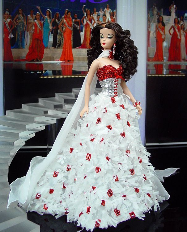 Vintage Wedding Dresses Canada: Pageant Doll, Fashion Doll, ๑Miss Canada 2012'